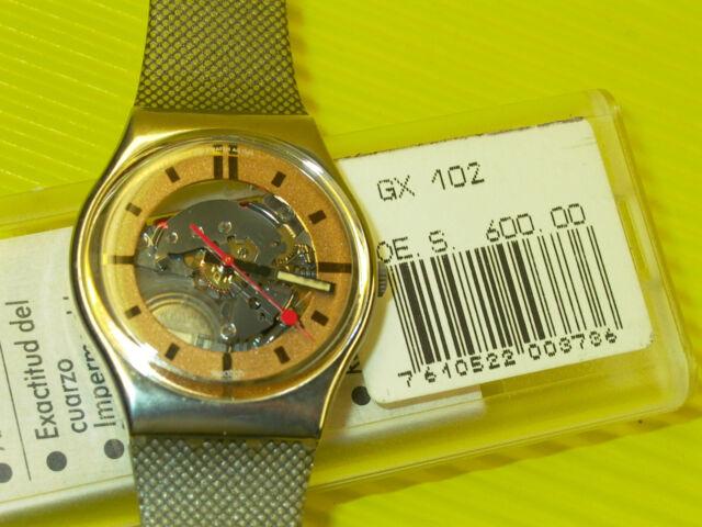 Swatch von 1988 - GOLDEN SPHERE - GX102 - NEU & OVP
