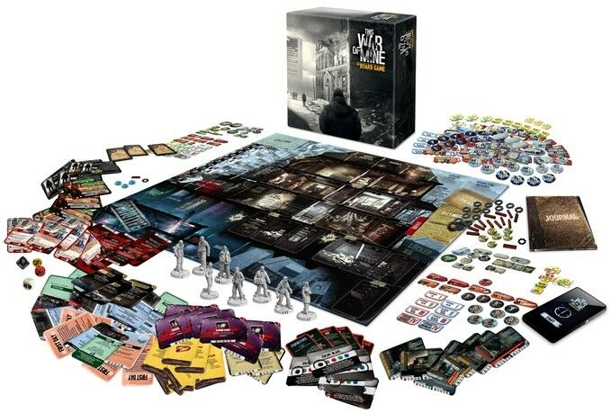 This War of Mine  The Board Game - english Edition