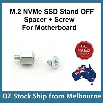4 Pieces Ship today NVME /& SSD M.2 board retaining screw