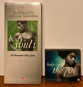 TIME-LIFE-MUSIC-PLATINUM-6-cd-Body-and-Soul-1-36-Romantic-Slow-Jams-The-70s
