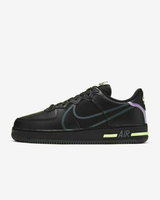 Size 10 - Nike Air Force 1 React Violet Star 2020 for sale online ...