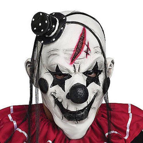 Cosplay Latex Horror Clown Maske Karneval Party Karneval Scary Fasching Kostüme