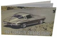 1965 Owners Manual C2 Corvette - Operations Manual - - We Ship World Wide -