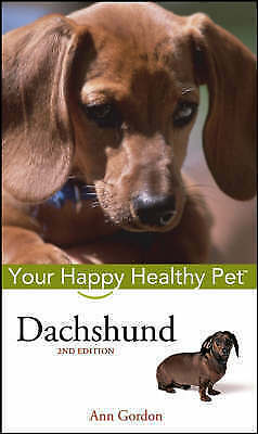 1 of 1 - Dachshund: Your Happy Healthy Pet-ExLibrary