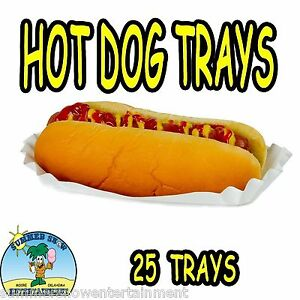 Paper Hot Dog Holders