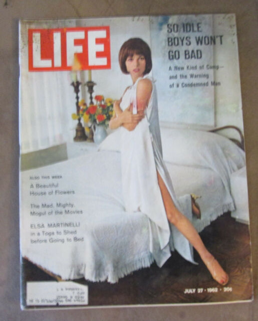 Life Magazine July 27 1962 Elsa Martinelli Cover