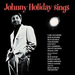 Sealed-Johnny-Holiday-Sings-CD-Kessel-Eschete-Manne-Shank-21-Tracks