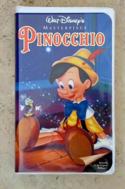 Walt Disney's Masterpiece Pinocchio 1993 VHS Cyber Monday ...