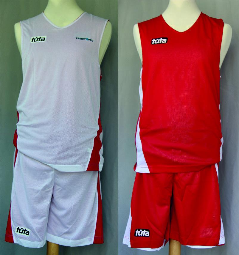 Basketball Wendetrikot & & & -Hose Set TUTA  neu, ab 134 cm bis 182 cm b1a070