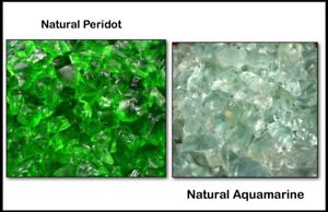 Brazilian 1000 Ct Aquamarine & Peridot Facet Gemstone Rough Specimen Lot Natural