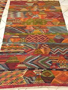 Vintage Moroccan Rug Zanafi Large 6x8 Ebay