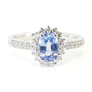 1-30-Ct-Light-Blue-Sapphire-And-Diamond-Cluster-Ring-18k-White-Gold
