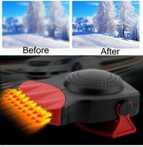 12V-Car-Portable-Ceramic-Heater-Cooler-Dryer-Fan-Defroster-Demister-Deicer-Warm
