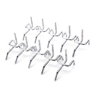 10pc-Metal-Peg-Board-Pegboard-Hooks-Garage-Work-Shop-Storage-Display-Steel-YNFK