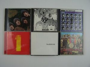 The Beatles 6xCD Lot #2