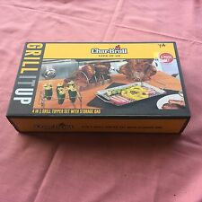 Char Broil 4 in 1 Grill Topper Set Rib Rack Beer Can Chicken Jalapeno Rack NEW