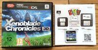 JEU XENOBLADE CHRONICLES 3D COMPLET EN BOITE AVEC NOTICE NINTENDO 3DS COLLECTOR