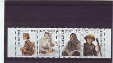 MACAO/MACAU - SG979-982 MNH 1997 TAN-KA (BOAT) PEOPLE