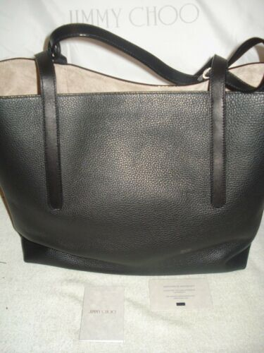 70cac243c6 6 of 12 100% Authentic New Jimmy Choo Twist East West Black Tote Bag/handbag