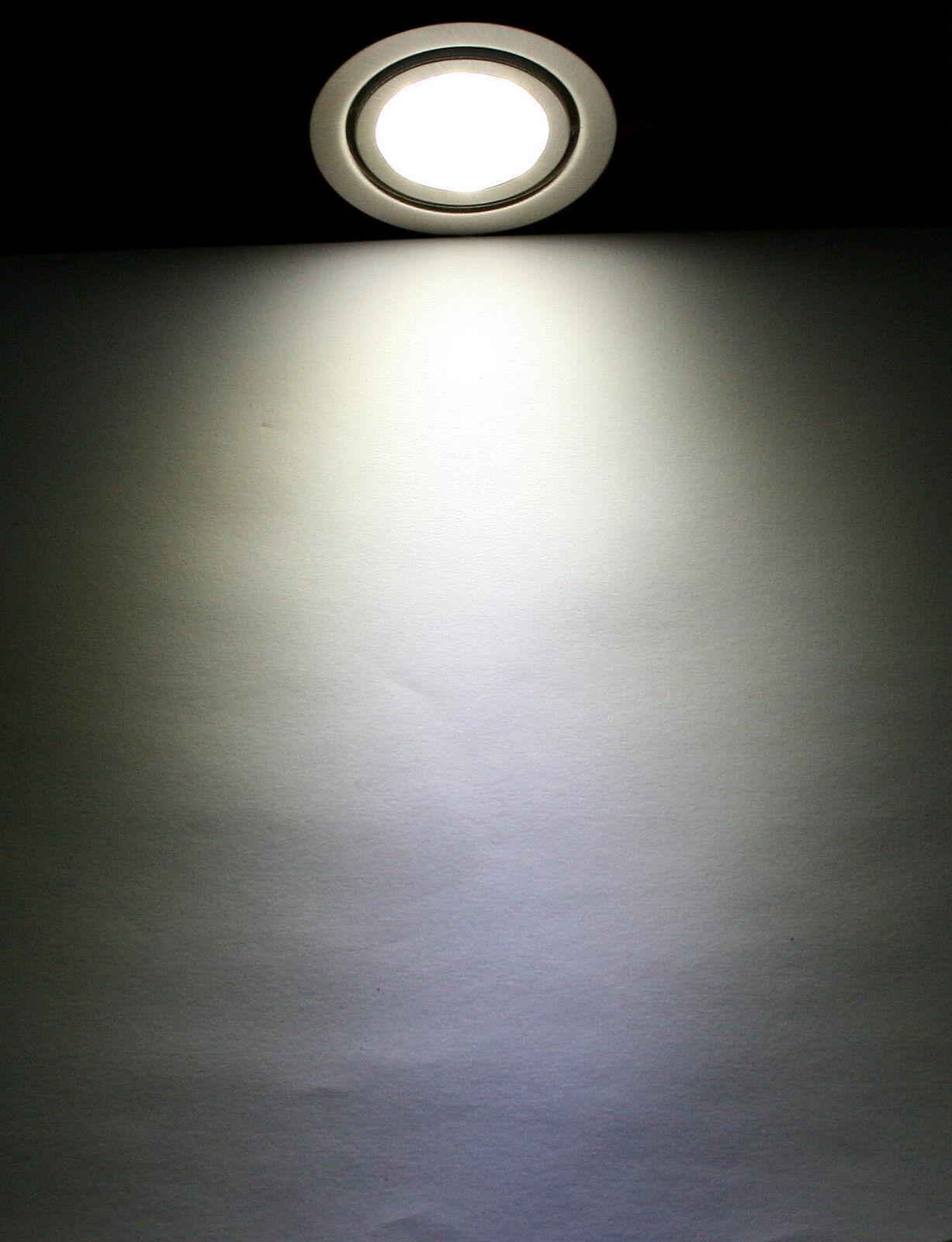 Küchen Küchen Küchen strahler Mobi 12V LED 3Watt  30Watt IP20 mit 1,5m Kabellänge ohne Trafo | Moderne und stilvolle Mode  |  79e008