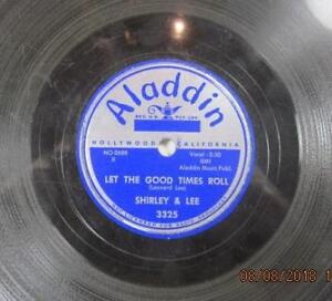 SHIRLEY-AND-LEE-LET-THE-GOOD-TIMES-ROLL-ALADDIN-3325-1956-78-RPM