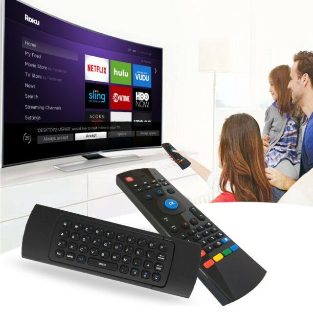 2.4G Wireless Air Mouse Keyboard Remote Control for Android Smart TV Box PC Pro