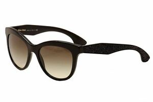 Miu Miu Women s Crystal Rock SMU10P SMU 10P 1AB-0A7 Black Sunglasses ... 6080eb4f27