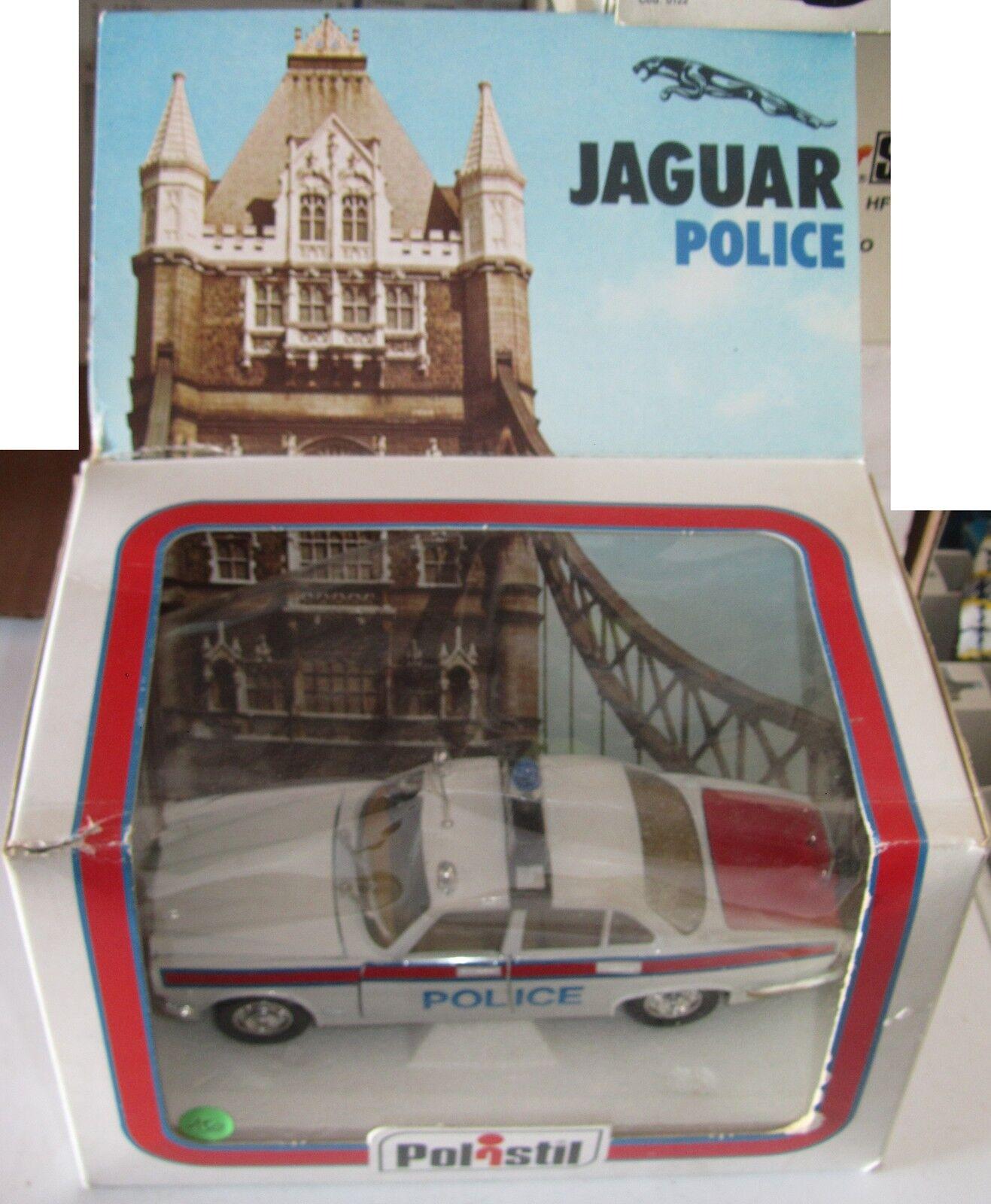 barato y de moda Modellino Polistil Jaguar Jaguar Jaguar XJ Police S635 1 25 Bella con scatola SPESE GRATIS  Entrega gratuita y rápida disponible.