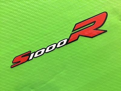 S1000RR logo decal Sticker with black outline for Track Bike or Toolbox ref #88B