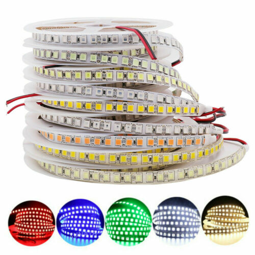5M 5054 600LEDs Bande Ruban LED Strip Flexible Lampe Lumière Noël étanche 12V