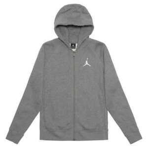 11d485cd015a Air Jordan Flight Men s Fleece Full-Zip Basketball Hoodie Carbon ...
