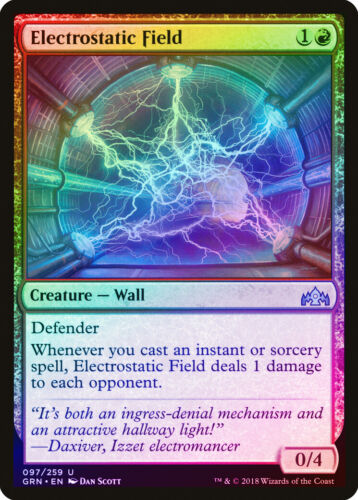 Electrostatic Field FOIL Guilds of Ravnica NM-M Red Uncommon MAGIC CARD ABUGames