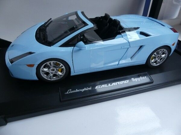 1 18 Norev Lamborghini Gallardo Spyder bleu clair 187951