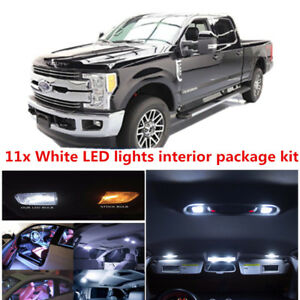 Image Is Loading For Ford F250 F350 White Led Interior Lights