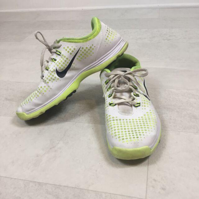 Huerta caldera Cantidad de dinero  Nike Womens Shoes Sz 9.5 Yellow Lunar Empress Golf 628537-101 Neon Green  White for sale online