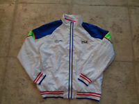 VINTAGE FILA X SONY OPEN CLASSIC-MIAMI 2XL TENNIS ZIP-UPJACKET 2014 PRE-OWNED