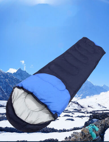 Ultralight adulte simple sac de couchage camping randonnée avec sac de transport Free Ship