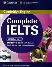 Cambridge COMPLETE IELTS Bands 6.5-7.5 STUDENT BOOK with Answers +CD-ROM C1 @New