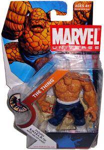 Series 1 Wave 3 #019 Dark Blue Pants//White Belt MOC The Thing Marvel Universe