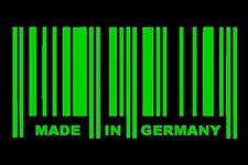 1x MADE IN GERMANY Aufkleber Sticker Shocker JDM OEM Tuning Auto Deutschland