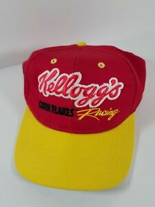 Terry Labonte #5 Nascar Kellogs Corn Flakes Nascar Racing Snapback Hat Made D2
