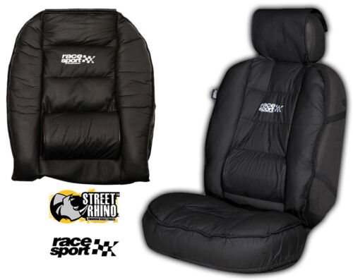 Vauxhall Astra Universal Race Sport Black Cushioned Front Seat Cover