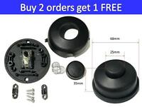 Black Inline Lamp Foot Switch Push Power Pedal Light Footswitch