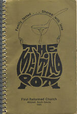 *MITCHELL SD 1985 FIRST REFORMED CHURCH COOK BOOK *THE MELTING POT *SOUTH DAKOTA