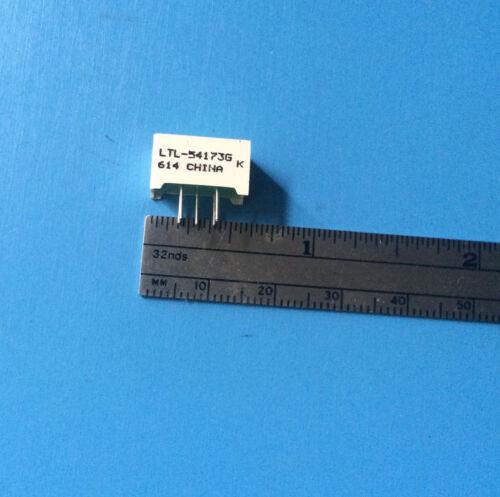 LTL-54173G LITE ON LED LIGHT BAR RECT 1X1 GREEN 13.97 x 7.49 mm 42 mcd 2.1 V
