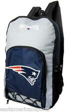 New England Patriots NFL Echo Backpack School Book Bag Full Size Travel Gym Case