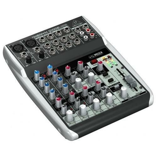48V INT BEHRINGER XENYX Q1002-USB MIXER 10 INGRESSI 2 COMPRESSORI PHANTOM POWER