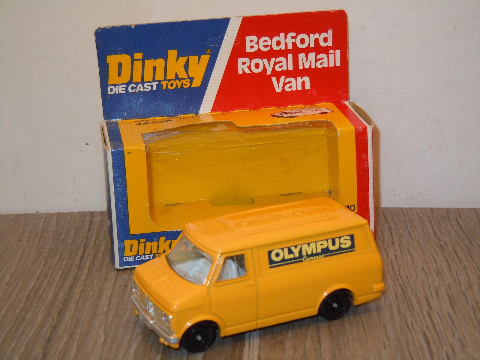 Bedford Van Olympus Cameras van Dinky Toys Code 2 John Gay in Box 15519