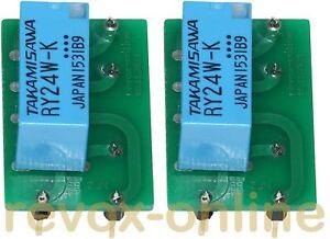 Relais-NF2-EB-12V-Ersatz-2-Stueck-fuer-Revox-B77-MK-II-Oscillator-1-177-240-243