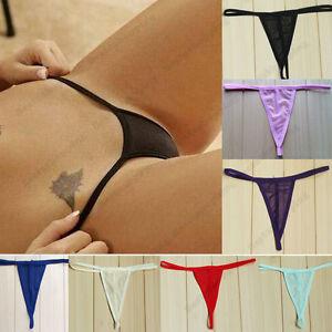 aa989b868714 Womens Ladies Sexy Thongs G-string V-string Panties Knickers ...